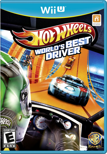 Hot Wheels World's Best Driver - Wii [Front]