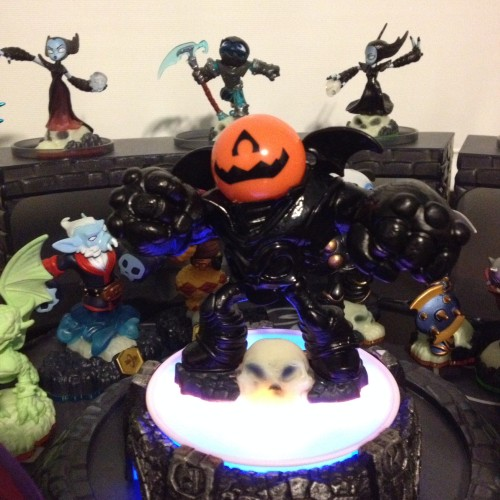 Pumpkin Eye Brawl