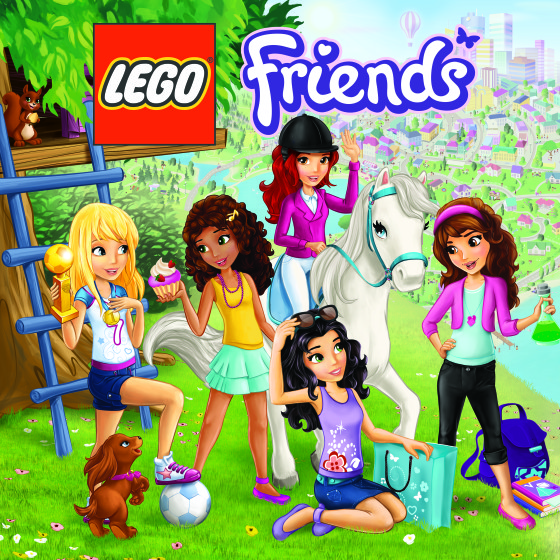 LEGO Friends Box Art