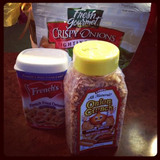 Onion Crunch Challenge
