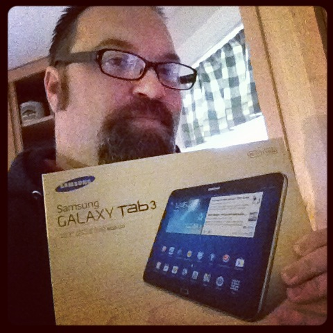 #Shop - Got my Samsung Galaxy Tablet 3 #IntelTablets