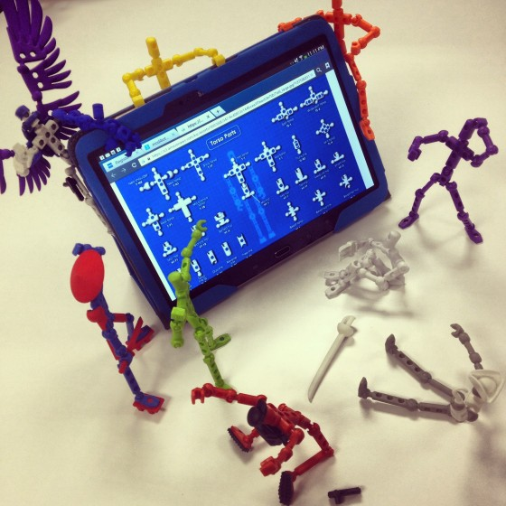 #Shop The #Modibots are getting an Anatomy Lesson on the Samsung Galaxy Tablet 3 #IntelTablets
