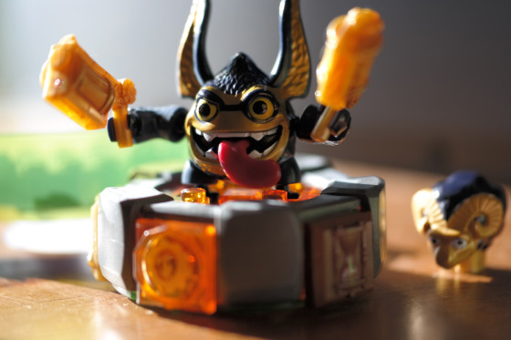 Skylanders - Legendary Trigger Happy Battle Portal