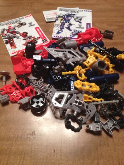 Transformers Construct-Bots Pieces