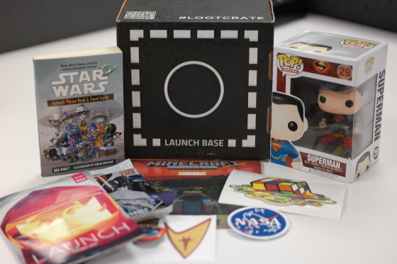 Launch the January Loot Crate