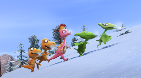 Dinosaur Train, Adventure Trackers