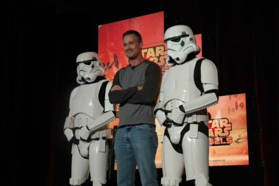 Freddie Prinze Jr and Stormtroopers