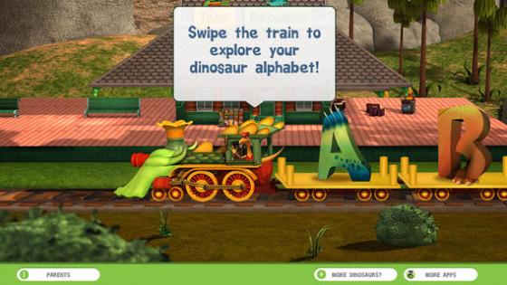 Pick a Letter off the Dinosaur Train