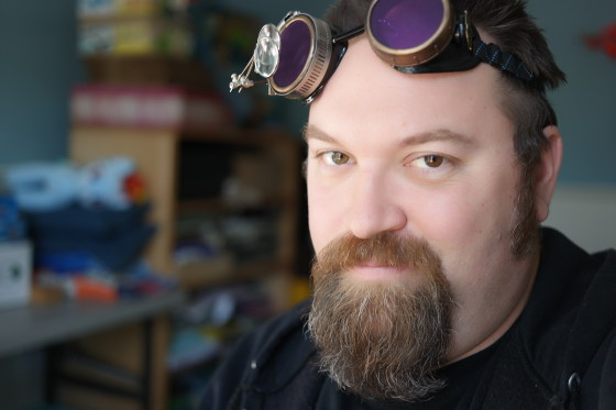 My Favorite Selfie Ever - Steampunk Goggles