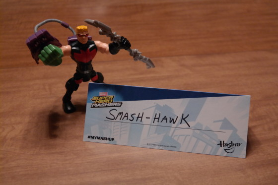 My Marvel MashUp is Smash-Hawk
