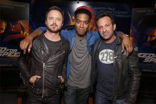 Need for Speed stars Aaron Paul Scott Mescudi and Director Scott Waugh