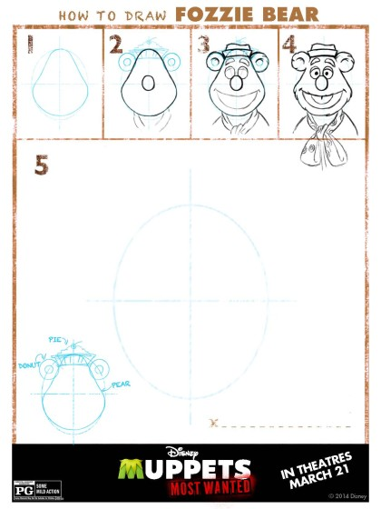 How to Draw Fozzie Bear