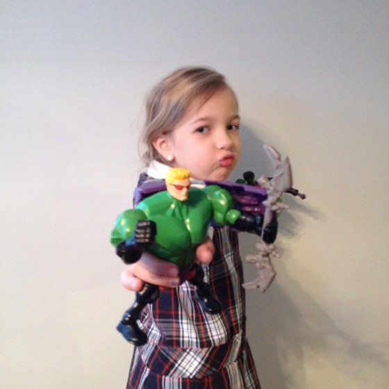Eva with Hawk Smash