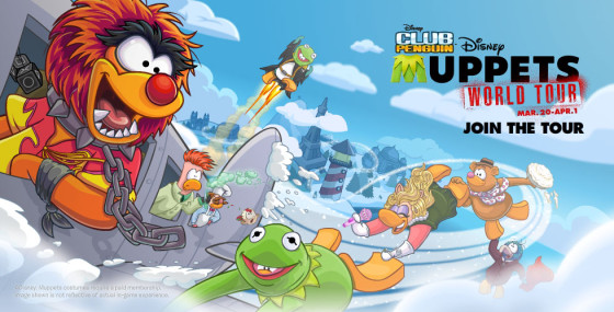Muppets on Club Penguin