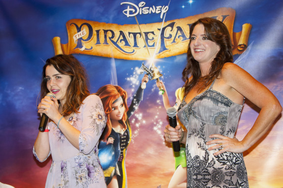 HONOLULU, HI - MARCH 15:  Producer Jenni Magee-Cook (R) is seen during The Pirate Fairy special screening At Disney Aulani Resort on March 15, 2014 in Honolulu, Hawaii.  (Photo by Marco Garcia/Getty Images for The Walt Disney Studios)