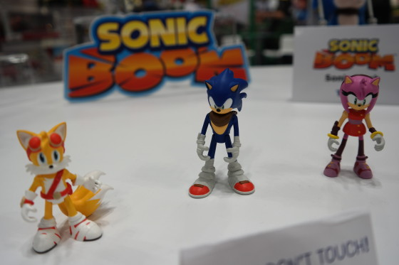 Sonic Boom - Tails, Sonic and Amy figures