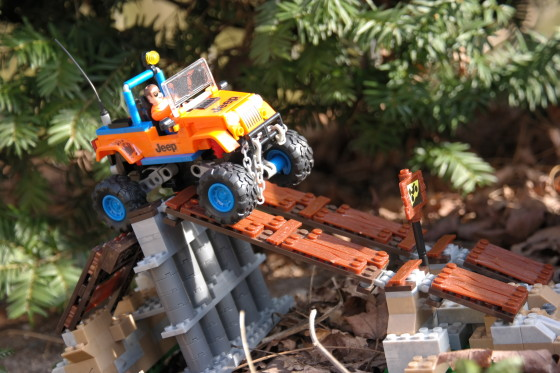 Taking Off-Road Outside with MEGA Bloks