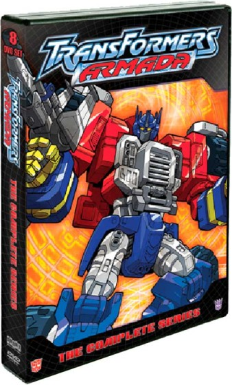 Transformers Armada Complete Series