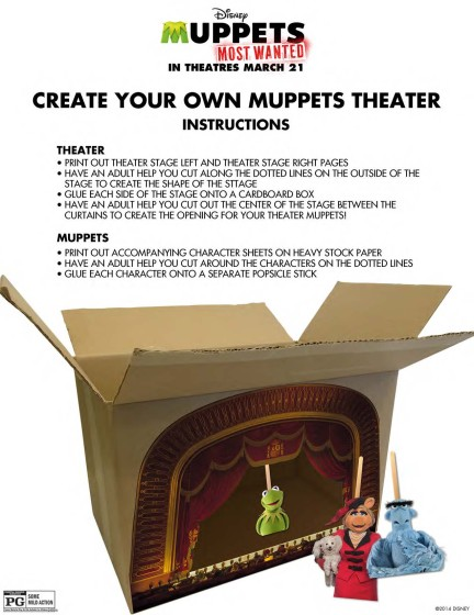 Muppets Most Wanted Build a Muppets Theater