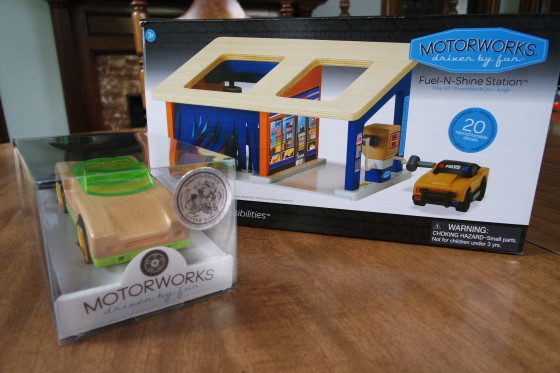 Motorworks Fuel N Shine Station and TR Convertible