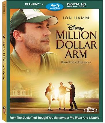 Million Dollar Arm Bluray Digital Copy