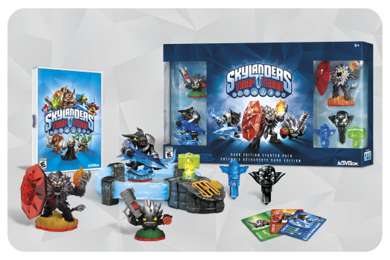 Skylanders Trap Team Dark Edition Set