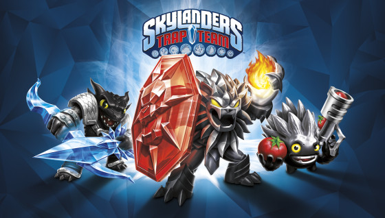 Skylanders Trap Team Dark Edition Artwork