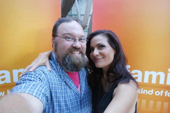 Selfie with Constance Marie