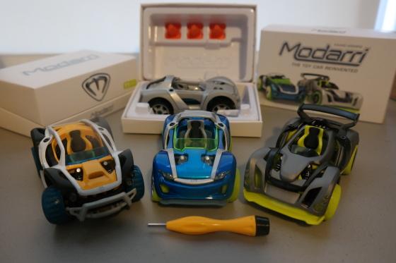 Modarri Toy Cars as shipped