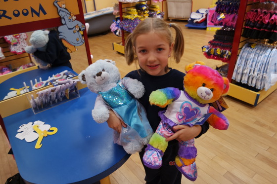 Toys For Tots Bear : Build a bear donations to benefit toys for tots