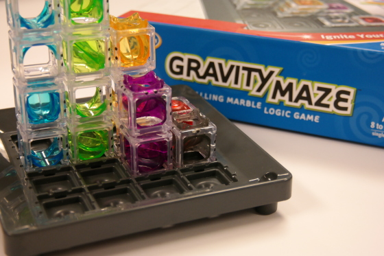 Closeup of Gravity Maze by ThinkFun