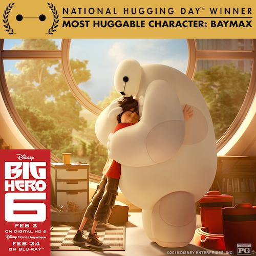Big Hero 6 Baymax Huggable Award