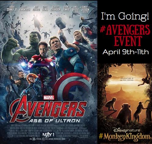 I'm Attending the #AvengersEvent