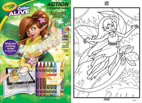 Crayola Color Alive Giveaway | BenSpark Family Adventures -Travel ...