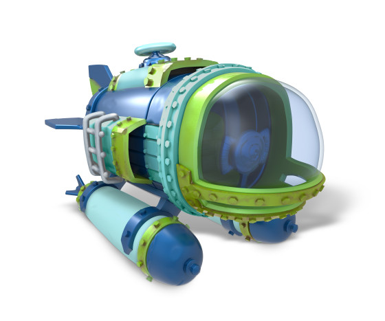 Skylanders SuperChargers - DiveBomber - Sea Type - Water Element - Vehicle - Toy Image
