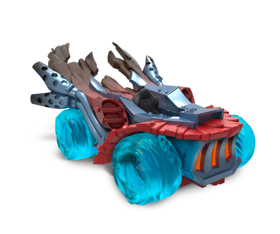 Skylanders SuperChargers - Hot Streak - Land Type - Fire Element - Vehicle - Toy Image