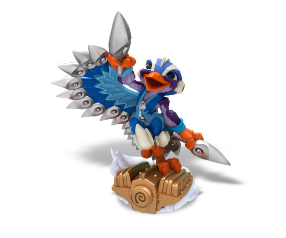 Skylanders SuperChargers - Stormblade - Air Element SuperCharger - Toy Image