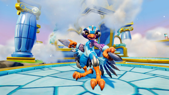 Skylanders SuperChargers - Stormblade - Air Element SuperCharger - Screen shot