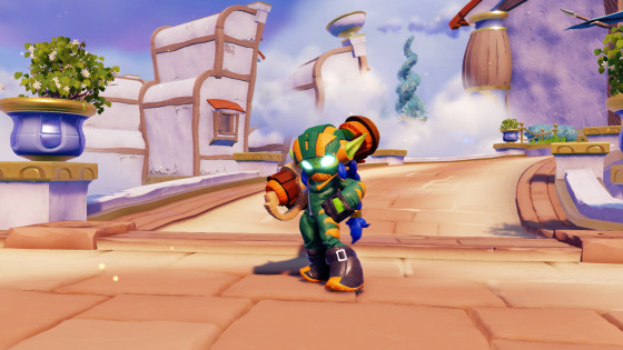Skylanders SuperChargers - Super Shot Stealth Elf  - Life Element SuperCharger - Screenshot