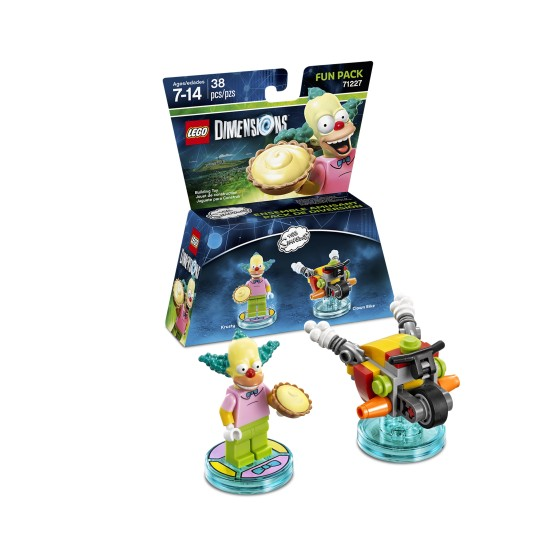 The Simpsons Krusty the Clown Fun Pack