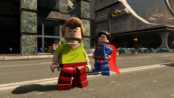 Shaggy and Superman