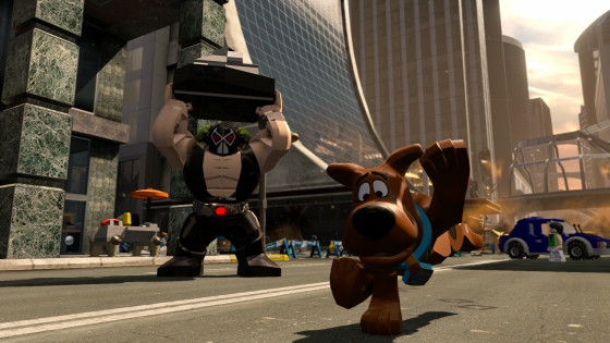 Bane and Scooby Doo