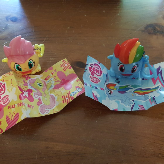 My Little Pony Radz and mini posters.