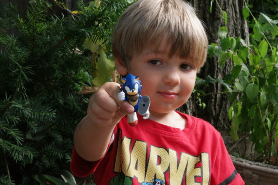 Andrew and Sonic