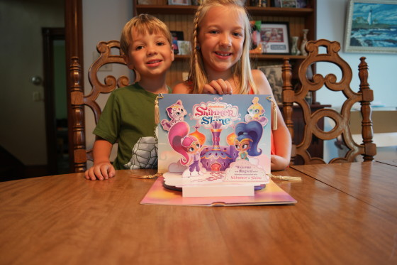 The Kids with Shimmer and Shine
