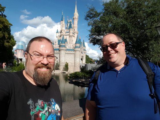 Mantripping at Disney
