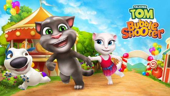 Talking Tom Bubble Shooter Releases Today