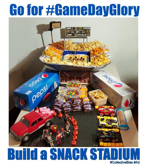 Go for #GameDayGlory Snack Stadium #CollectiveBias #Ad