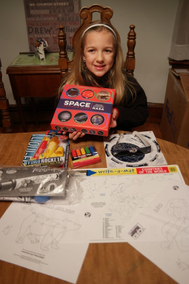 Eva with her Ready JET Go kit Ready for Space Exploration