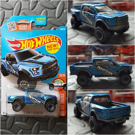 Hot Wheels 2017 Ford F-150 Raptor